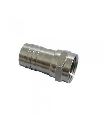 Conector F de Crimpar RG59 - PN0065