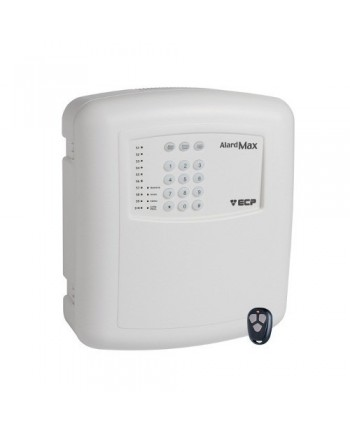 Central de Alarme com 2 Controles e Discadora Integrada Alard Max 10