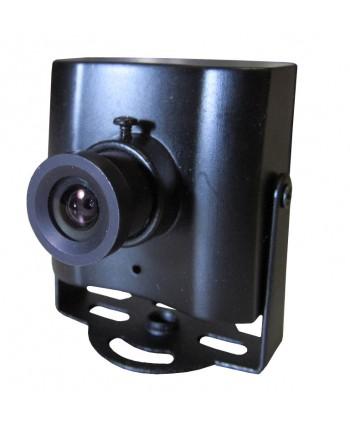 "Mini câmera 1/3"" CCD Sony 700L Lente 3,6mm – PN0159"