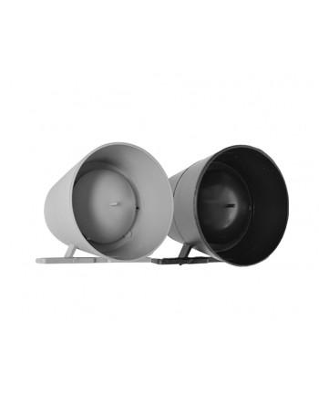 Sirene Compacta de Alta Potência Piezo Preta - PN0265